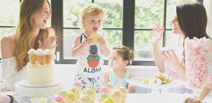 A Summer Ice Cream Social